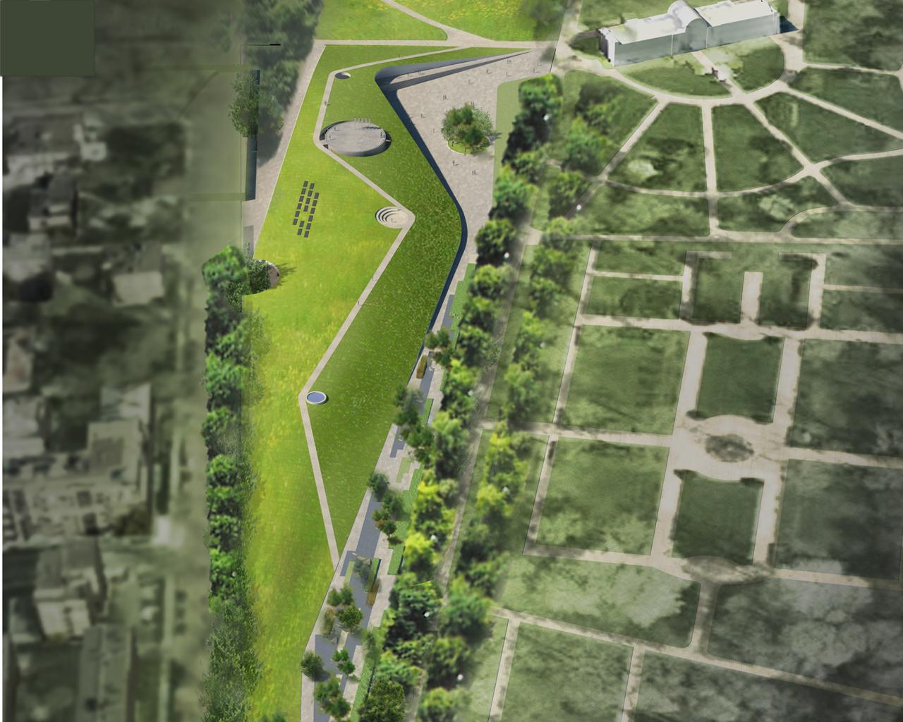 Ogród Xxi Wieku I Pawilon Wystawowy W łazienkach Królewskich